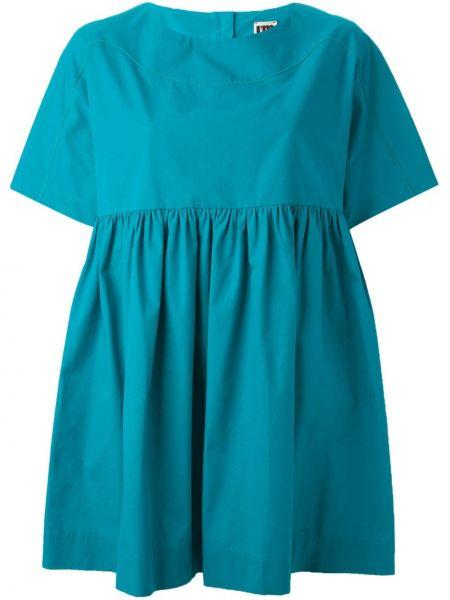 Свободная бирюзовая блузка I'm Isola Marras