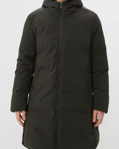 Зимняя куртка утепленная зеленая Papermint