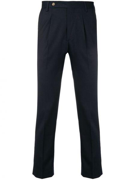 Деловые классические брюки на пуговицах с карманами Entre Amis