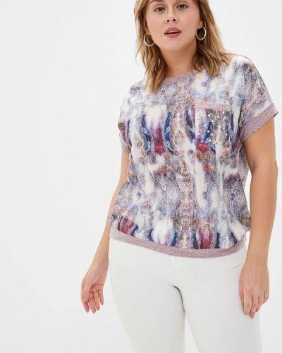 Блузка с коротким рукавом розовая Milanika