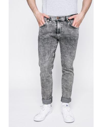 Серые джинсы-скинни Wrangler