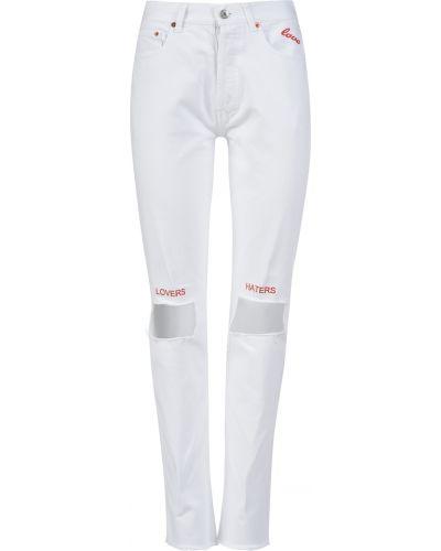 Джинсы белые Forte Couture