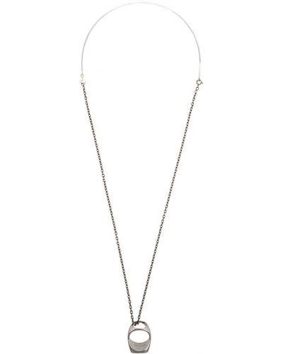 Ожерелье серебряный большой Maison Margiela