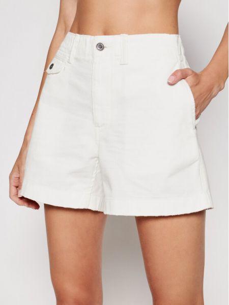 Białe szorty jeansowe Polo Ralph Lauren