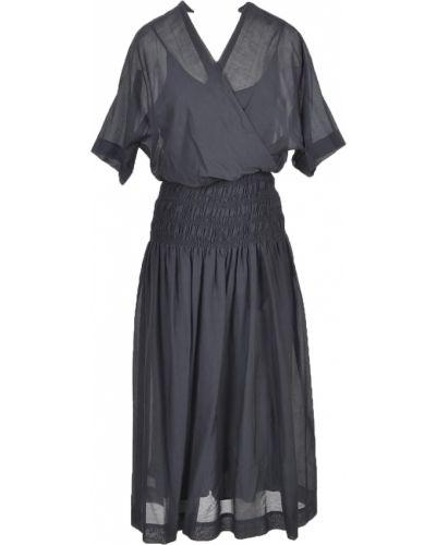 Czarna sukienka Alysi