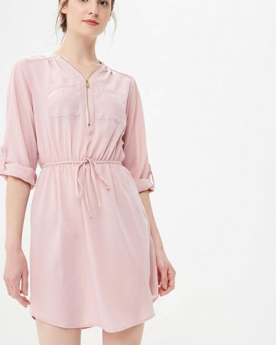 Розовое платье весеннее Piazza Italia