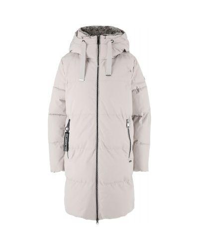 Стеганое пальто - бежевое Luhta