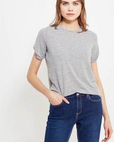 Серая футболка Vero Moda