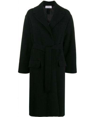 Длинное пальто без воротника шерстяное Barena