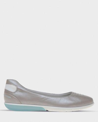 Балетки на каблуке Ecco