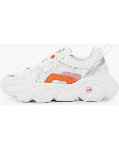 Кожаные кроссовки - белые Strobbs