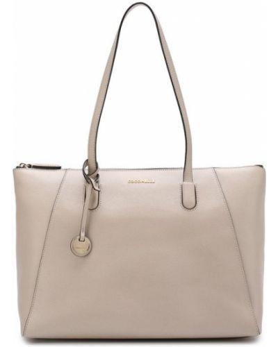 Кожаный сумка сумка-тоут с отделениями Coccinelle