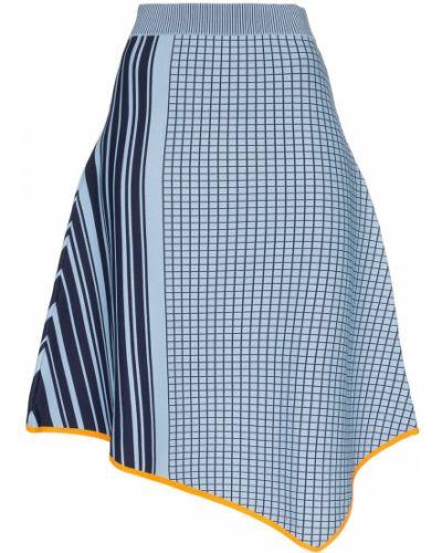 Синяя юбка с поясом I-am-chen