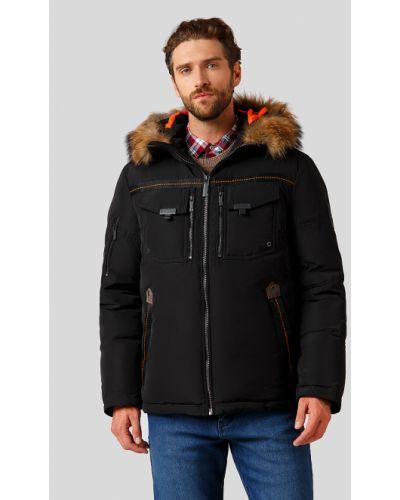 Черная куртка Finn Flare