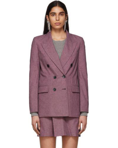 Пиджак черный в полоску Isabel Marant Etoile