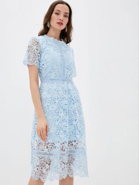 Вечернее платье - голубое Liana