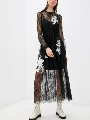 Вечернее платье - черное Twinset Milano