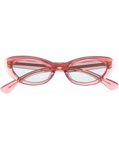 Czerwone okulary Christian Roth