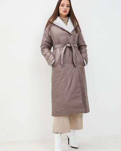 Коричневая утепленная куртка Doctor E
