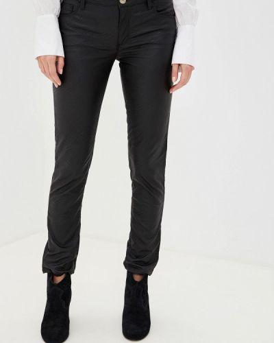 Брюки кожаные Trussardi Jeans