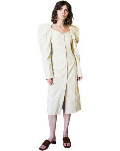 Beżowa sukienka Ghospell