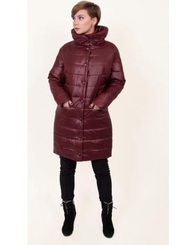 Пальто с капюшоном на молнии на кнопках J-splash