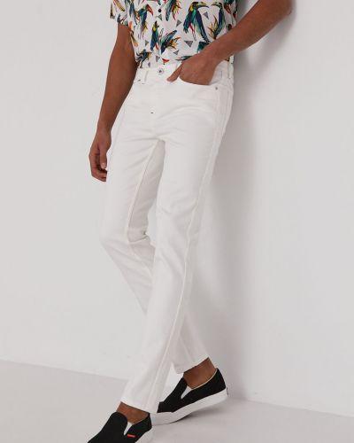Białe jeansy bawełniane Medicine