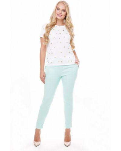 Льняные брюки - голубые Losinelli