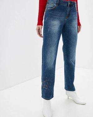 Прямые джинсы синие Desigual