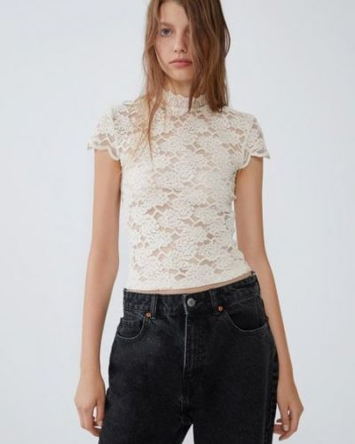 Блузка на пуговицах Zara
