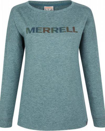 Приталенная синяя спортивная футболка Merrell