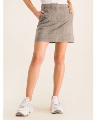 Spódnica trapezowa - szara Max&co.