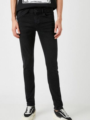 Черные джинсы осенние Koton
