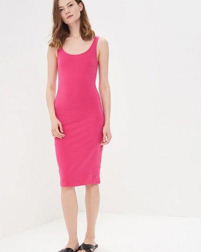Розовое платье весеннее Modis