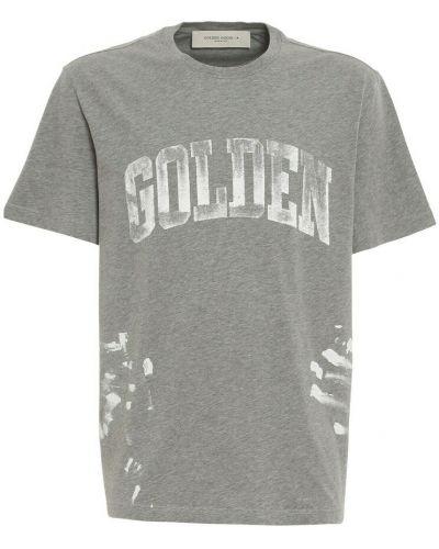 Szara koszula Golden Goose