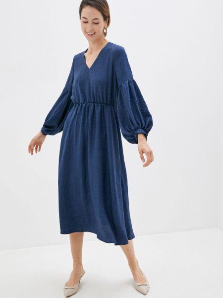 Платье - синее Clabin