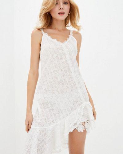 Пляжное белое платье Ora