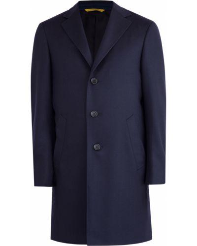 Пальто в рубчик прямое Canali