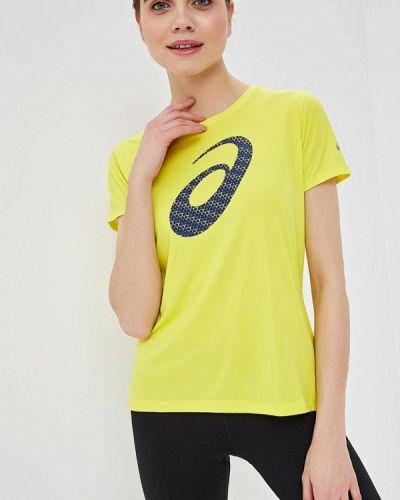 Спортивная футболка желтый Asics