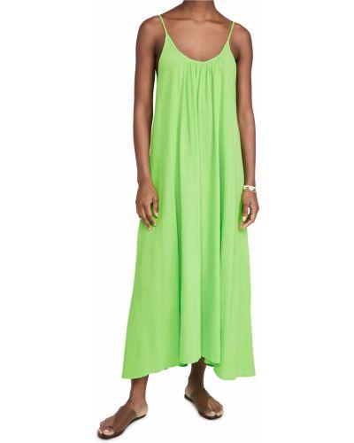 Хлопковое платье с декольте стрейч 9seed