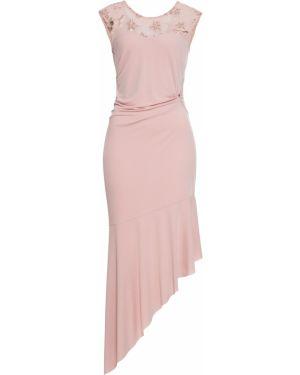 Платье макси с пайетками длинное Bonprix