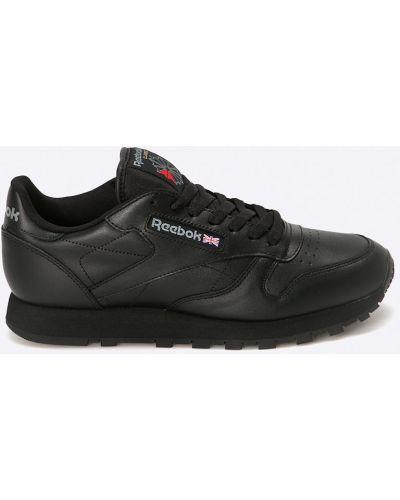 Черные кроссовки текстильные Reebok