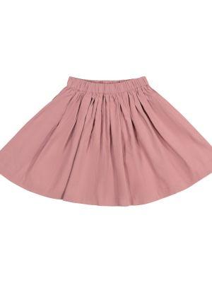 Ватная розовая юбка вельветовая Bonpoint