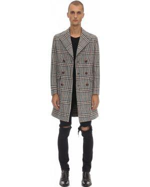 Czarny płaszcz bawełniany Bottega Martinese