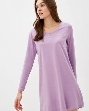 Платье осеннее фиолетовый Nymos