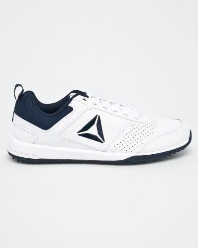Белые кроссовки Reebok