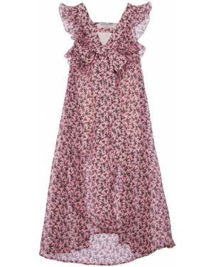 Ажурное платье с декольте Philosophy Di Lorenzo Serafini