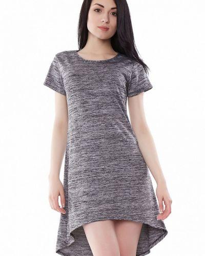 Серое вязаное платье Vergans