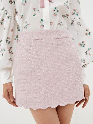 Розовая прямая юбка Sister Jane