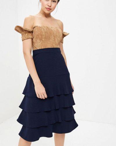 Платье с открытыми плечами Tutto Bene